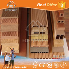 WPC Decking 100% SGS indoor wpc floor wood plastic composite