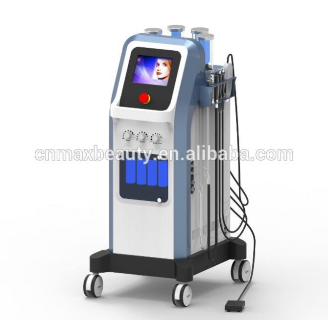 M-SPA10 outstanding desigh 7 in 1 Microcurrent Wand diamond dermabrasion oxygen therapy facial machine