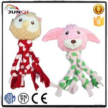 Custom production Plush pet supplies cool dog toys
