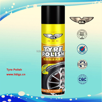 Tire foam cleaner tire polish spray 650ml