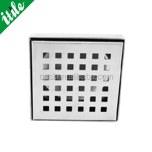 Outdoor stainless steel Square hole floor drain