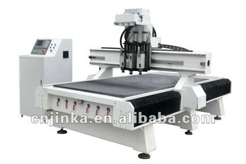 Three Procedures Series Automatic CNC Router Machine