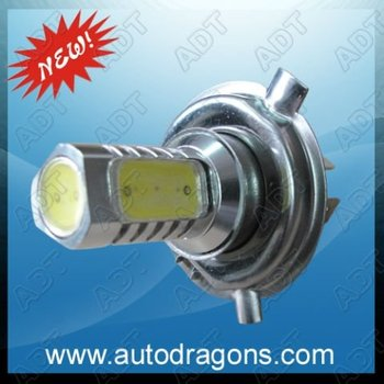 High Power H4 7.5W White LED Auto Car Truck Fog Light Lamp Bulb 12V