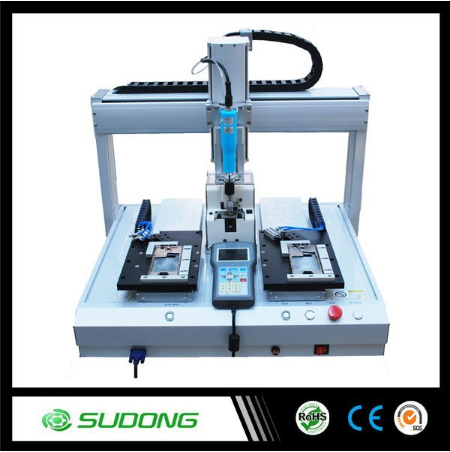 Automatic Mobile Phone Repairing Machine , Desktop Screw Tighten Machine Robot