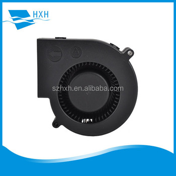HXH 5v 12v 24v 9.7cm 97mm x 94mm x 33mm 4 Inch 9733 DC Centrifugal Blower Fan