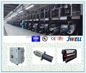 JWELL - pp reinforced concrete fiber extruder machine/ pp danline yarn cement fiber extrusion line