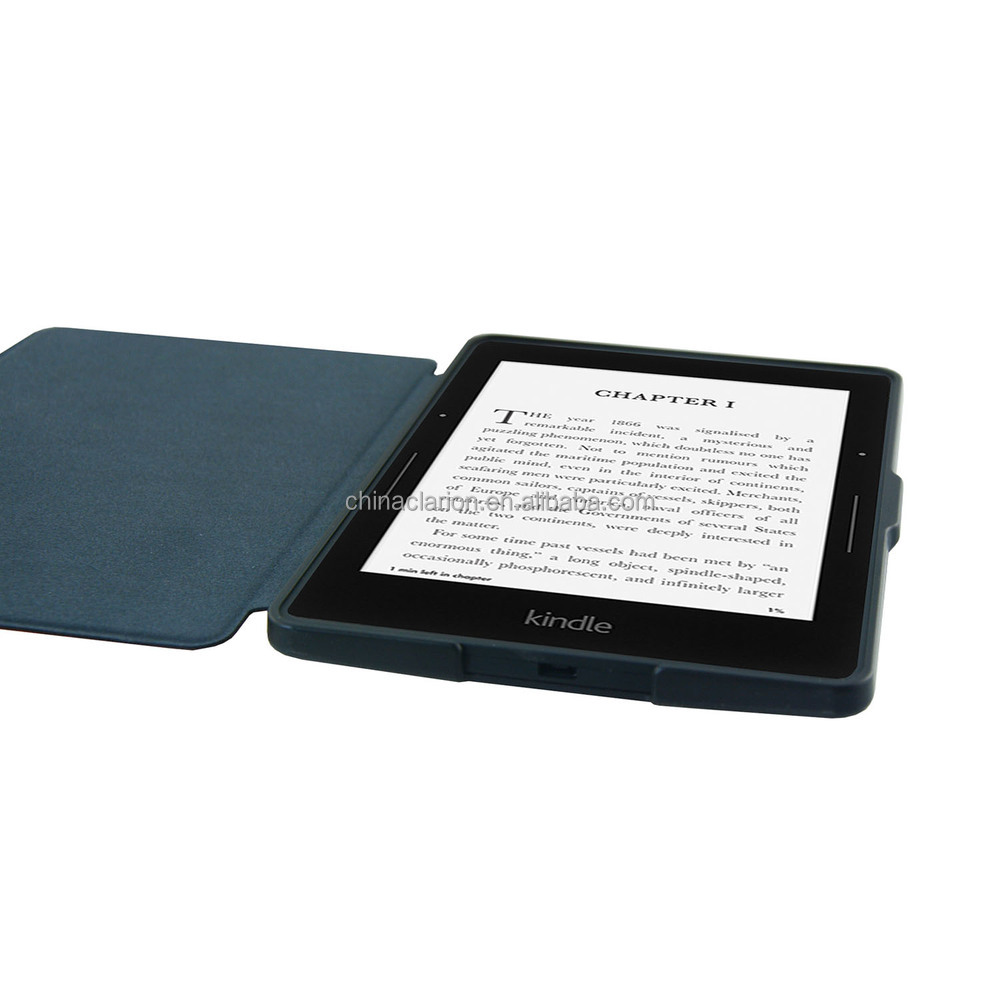 Portefeuille PU étui en cuir pour Kindle fire HDX 7 '' Amazon Stand Case