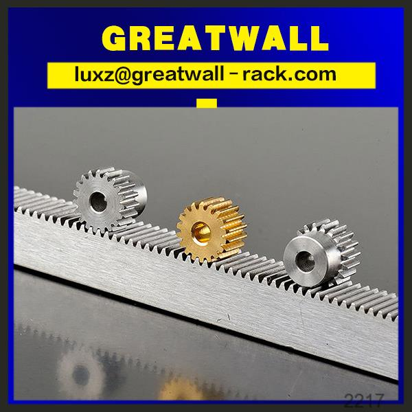 Metal Small Rack And Pinion Gears