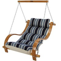 stripe dark blue vinyl comfort high quality cool wholesale seat lounger cushion