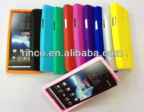 Soft Silicon Case Cover for Sony Ericsson Xperia S Arc HD LT26i Nozomi