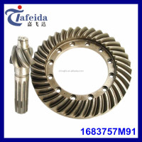 Tractor Gear for Massey Ferguson, MF Tractor Parts, Rear Differential Parts, 1683757M91, 6T/37T Or 7T/36T, Crown Wheel & Pinion