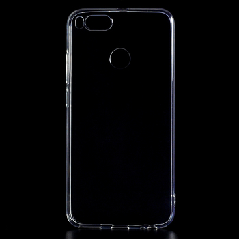TPU Plastic Material Crystal Clear Case For Xiaomi mi 5x ,high quality transparent case for mi 5x