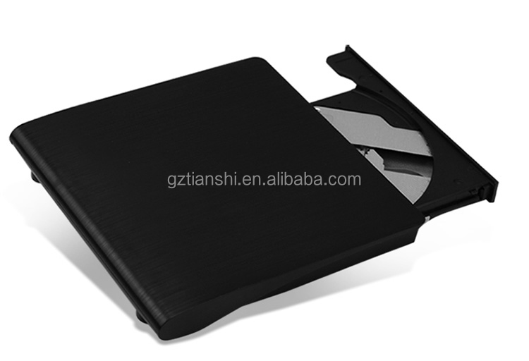 Top quality POP-UP mobile external USB2.0 DVD-RW for hp laptop USB3.0 DVD Writer