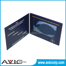 "2016 newest invitation 2.4/2.8/4.3/5/7/10.1"" lcd video brochure"