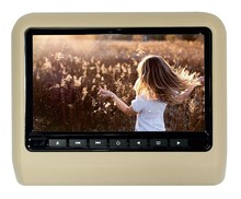 9 Inch Headrest Car DVD Player Monitor With OEM Service