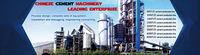 Available to overseas service cement production line professional manufacturer in China