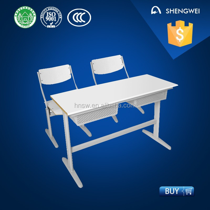high quality standard classroom desk and chair second hand school furniture