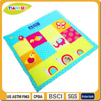 Early-educational ECO friendly baby play mat for children