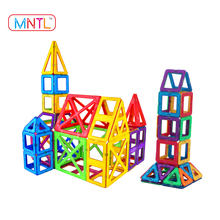 MNTL 120-PCS Building Blocks Toddlers Magnetic Sticks Toys DIY Educational Toy for Kids