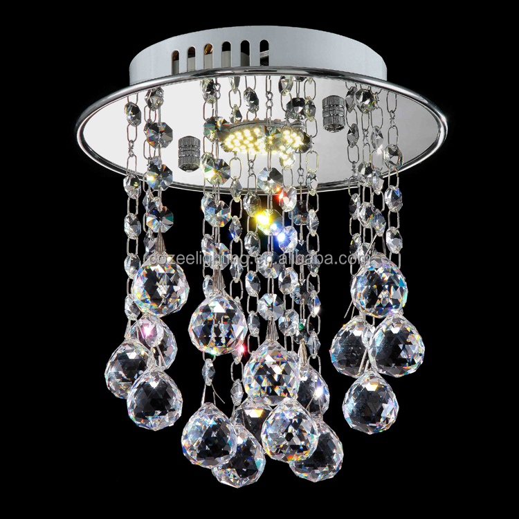 Modern Interior Decoration Lamparas of Ceiling Crystal Drops for Chandeliers CZ8173