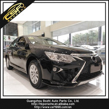 For Camry to NX body kits fit for Camry 2015year to NX style ZS-custom front bumper, PP material