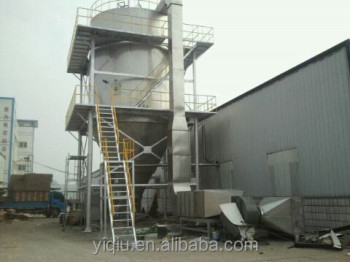 high quality formaldehyde resin spray dryer with nozzle