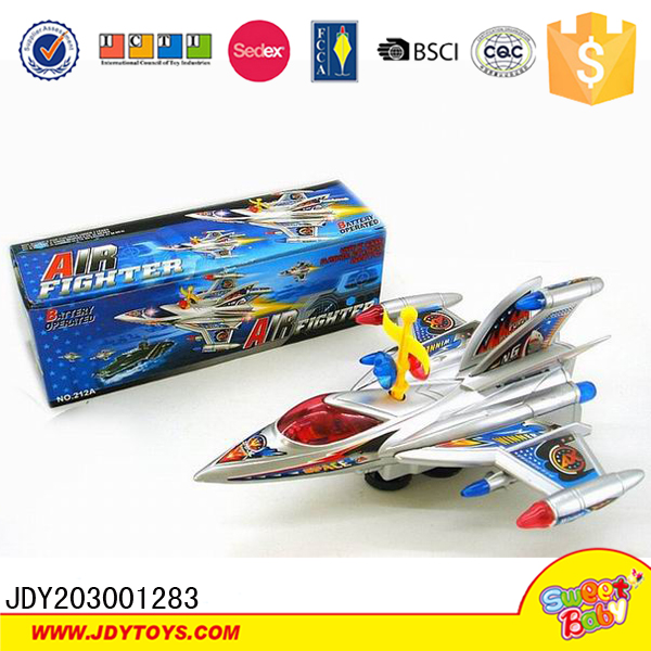 Kids fighting battery operated toy aircraft electric plane for kids