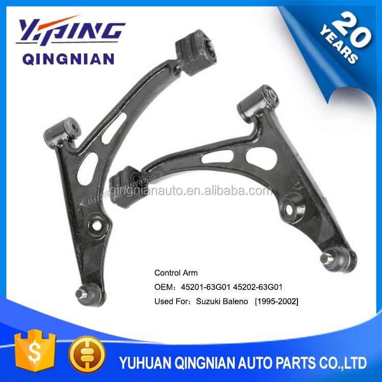 Lower Suspension Control Arm Used For Suzuki Baleno OEM:45201-63G01 45202-63G01