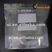 LDPE zipper reclosable bag