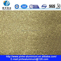 0.3mm A1050 H24 embossed stucco aluminum sheet for evaporators and condensers