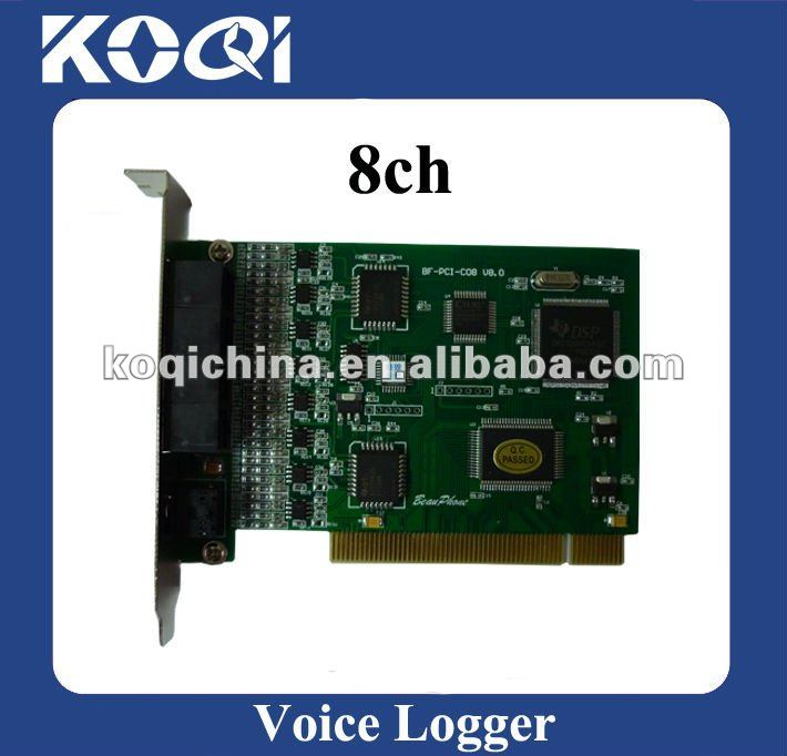 Factory price automatic PCI voice recorder