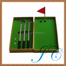Best selling promotional mini office golf putter sets for kids