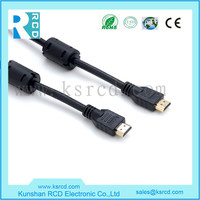 China supplier factory cable gold plated 1080p 1.4v hdm i to hdm i cable