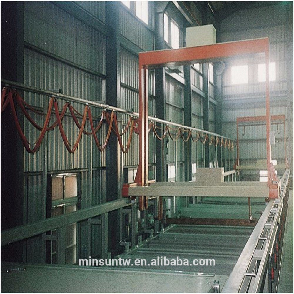 Full Automatic Carrier Type Rack Galvanic Equipment Rack Electroplating System