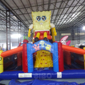 170517050 Sponge baby children inflatable bouncer with slide