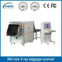 Airport x ray machine, x-ray airport baggage scanner