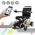 Fashionable Safebond cheap portable lightweight folding electric wheelchair price
