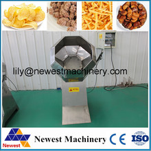 Commercial and home use small size potato chips making flavoring machine
