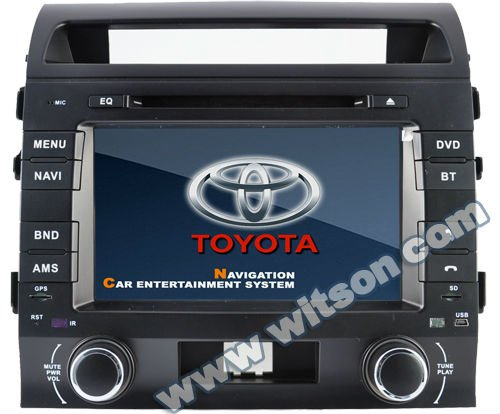 WITSON auto radio dvd for TOYOTA LAND CRUISER L200 with iPhone ready
