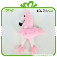 Promotion Hanging Flamingo Small Ornament Stuffed