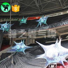 New Design LED Lighting Inflatable Jellyfish Star With 16 Color Changing For EVENT PARTY STAGE DECOR Y45