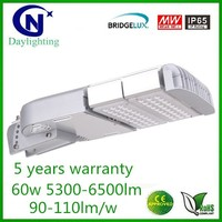 Beam angle adjustable Bridgelux 60w 90w 120w 150w 180w 210w led street light