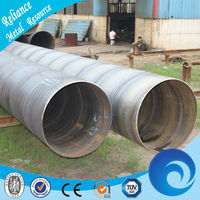529MM DIAMETER SPIRAL STEEL CASING PIPE SIZES FOR WATER DISTRIBUTION