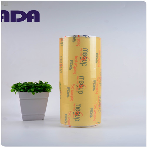 Household Plastic Super Soft PVC cling film roll for food wrap