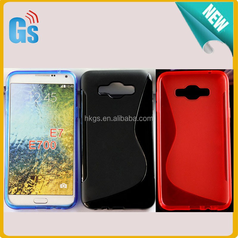 New Things For Selling S Line TPU For Samsung Galaxy E7 SM-E700 Case Cover