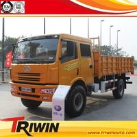 4 ton 5 ton 6 ton EURO 3 diesel engine 180hp full wheel drive light lorry 4x4 light truck, cargo truck (4x4, rhd)