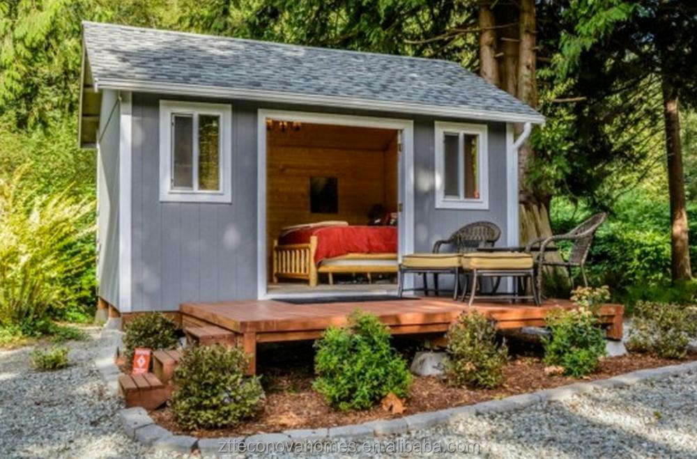 Een slaapkamer prefab huisje door sandwich paneel met for 1 bedroom prefab homes
