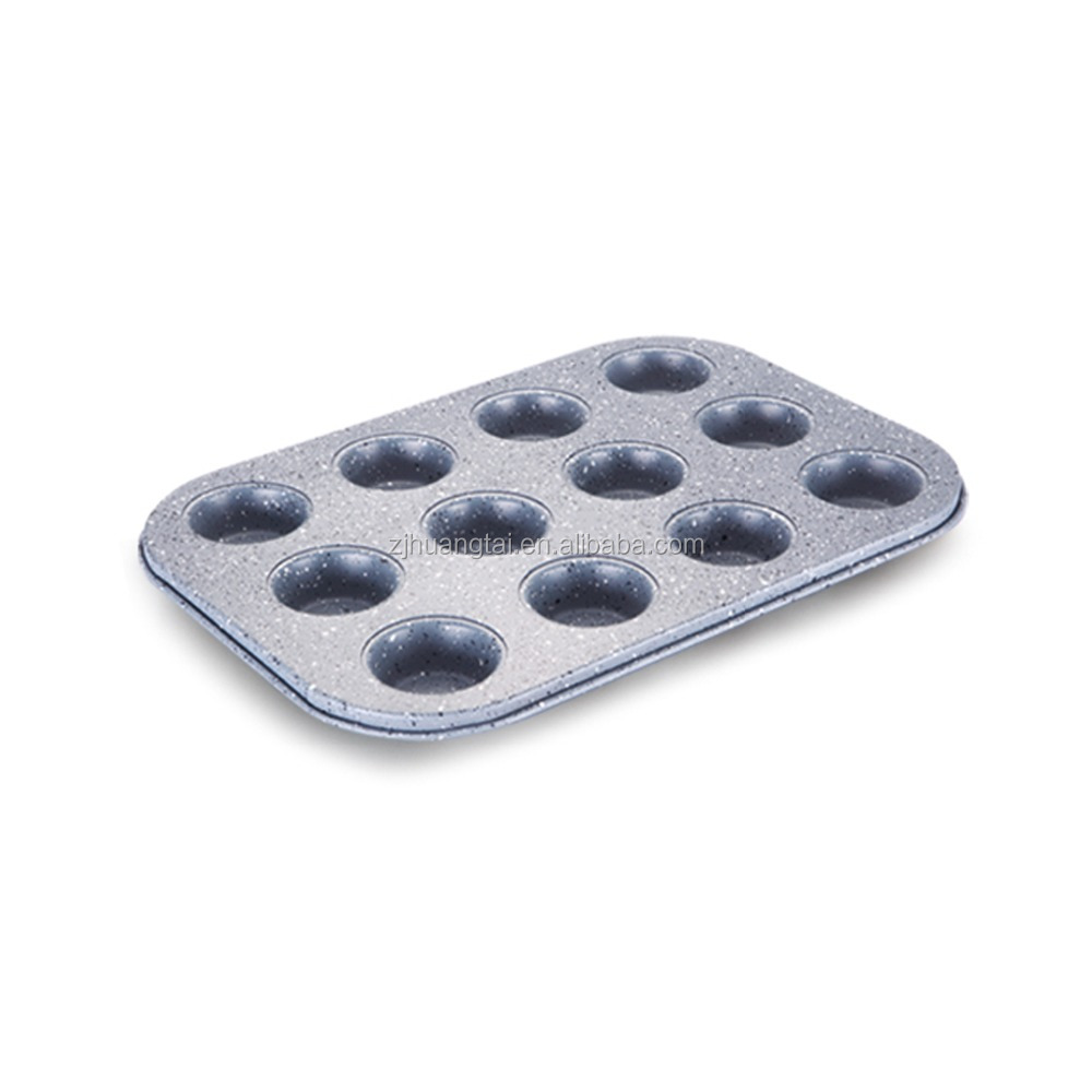 mini 12 cup muffin pan 0.6mm cake molds baking pan
