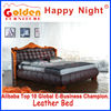 2817# Foshan Golden Furniture classical wooden bed models