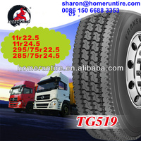 DOT/Smartway High Quality with Japan Technology cheap Truck Tires 11r22 5,11r24 5,295/75r22 5,285/75r24 5 for sale in USA/Canada